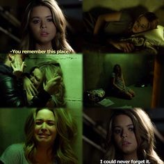 I may not like Ali but this part scared me where he pushed her against the wall.