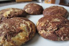 Chocolate Marble Biscuits