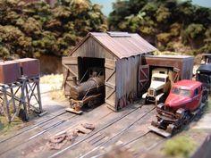 New Zealand Bush Railway - Owned By Grant Morrell #modeltrainbushes #modeltraindiy