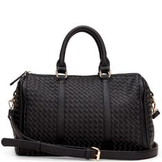 Anyta Woven Satchel made from soft vegan leather... from Sole Society #poachit