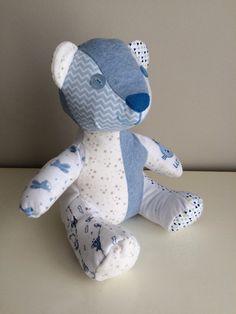 Memory Bear Keepsake Bear by BabyBearsNursery on Etsy https://www.etsy.com/uk/listing/500355058/memory-bear-keepsake-bear