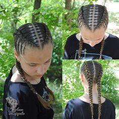 Girls Hairdos, Lil Girl Hairstyles, Kids Braided Hairstyles, African Braids Hairstyles, Pretty Hairstyles, Natural Hair Styles, Short Hair Styles, Roll Hairstyle, Beautiful Braids