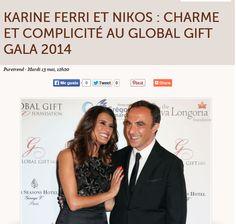 The Global Gift Gala Paris 2014 Niko Aliaga Four Seasons Hotel George V