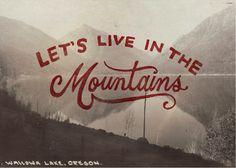 Let's live in the mountains / ohpioneer   #guestpinner #guestblogger  @HappyMakersBlog @uitgeverijsnor
