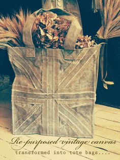 ♥ this Union Jack tote