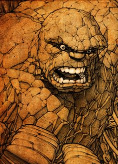 Comic Book Artwork • The Thing By Dale Keown