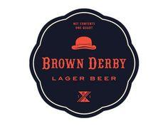 Brown Derby Vintage Logo