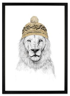 Winter is Here by Balaza Solti. Prints from £29. MADE.COM