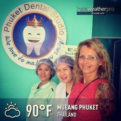 Patient from sweden at phuket dental studio