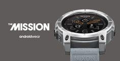 relógio watch nixon the mission androidwear o futuro é mac