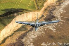 Vulcan XH558 over Beachy Head, East Sussex