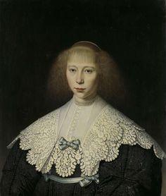 Agatha Geelvinck (1617-38). First wife of Frederik Dircksz Alewijn, Dirck Dircksz. van Santvoort, 1637 - 1640
