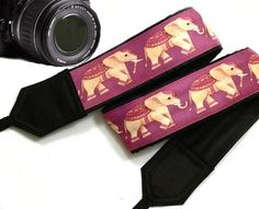 Hey, I found this really awesome Etsy listing at https://www.etsy.com/listing/221990958/lucky-elephants-camera-strap-ethnic