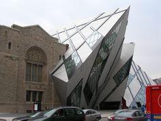 Royal Ontario Museum, Toronto (Daniel Liebskind)