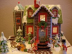 another cool gingerbread house