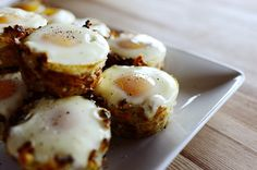 Eggs in Hash Brown Nests from The Pioneer Woman - Naturally #glutenfree