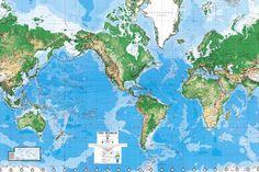 World Map Wall Art Home Decor Pinterest Walls Room