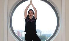 Yoga com Look total Olympikus
