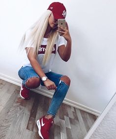 Red Levi's