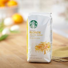 Starbucks Willow Blend™ | Starbucks® Store (pretty much the ONLY Starbucks coffee blend I'll drink - it's really great, and not burnt tasting or smokey!)