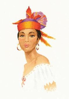 Dominique Cross Stitch Kit by Heritage Crafts - £27.25 on Past Impressions | Designed by John Clayton