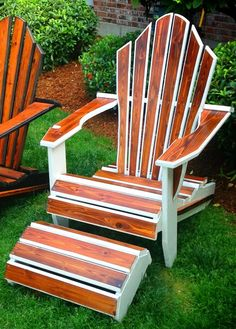 Adirondack Chairs by CalvinDahlstrom on Etsy, $550.00