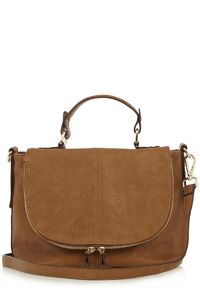 474e15fa86c4 Faith Low Slung Hobo Bag in Tan (£59) ❤ liked on Polyvore featuring ...