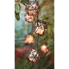 Threshold™ Square Diecut String Lights (10 ct)