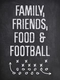 Fontaholic: FREEBIE FRIDAY: Family & Football Print