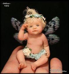 baby faries | Weefairytales Fairies Fae Ooak Art Doll Baby Fairy Sculpture used, new ...