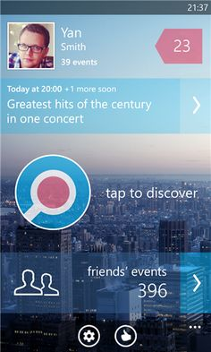 LocalEvents for Facebook   App for Windows Phone