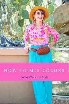 How to mix colors