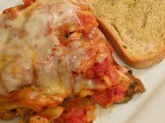 Slow Cooker Vegetarian Lasagna. #recipe