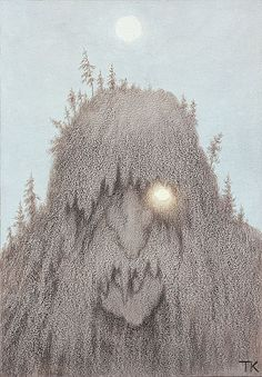 A norwegian forest troll