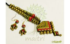 Medium-Big Size Terracotta Sets & Necklaces