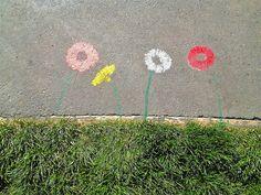 Sidewalk Flowers  #lynnfriedman #photographs #art #flowers  #CaliforniaPhotographsbyLynnFriedman