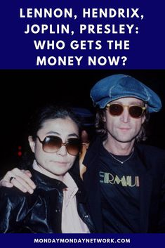 This brings us to the question of where do all of the royalties from those songs, albums, and merchandise go to now that they are gone? Get Money Now, Rock And Roll Artists, Monday Monday, Rock N Roll Music, Live Rock, Janis Joplin, Jimi Hendrix, John Lennon, Elvis Presley