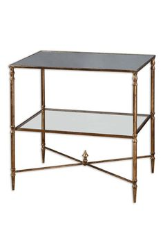 Uttermost+'Henzler'+Mirrored+Accent+Table+available+at+#Nordstrom