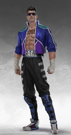 Johnny Cage, Mortal Kombat, Parachute Pants, Fashion, Moda, Fashion Styles, Fashion Illustrations