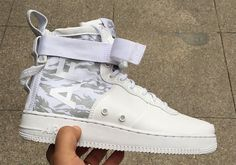 """#sneakers #news  Nike SF-AF1 Mid """"Tiger Camo"""" Goes Arctic"""