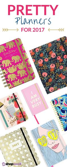 It's never too early to snag a pretty planner for 2017! Click-through to shop the collection of our favorite planners and organizers.