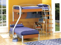 Bunk Beds With Desk | Bedroom Ideas Pictures