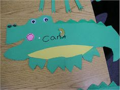 crocodile contractions with the apostrophe being the crocodile tooth! Too cute!