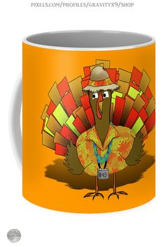 * Vacation Turkey Thanksgiving Coffee Mug by #Gravityx9 at Pixels and Fine Art America * Two options to choose form * This design is also available on home decor, tee shirts, and more.* Thanksgiving coffee mugs * holiday coffee mug * coffee mugs gift ideas * Thanksgiving coffee mugs gift ideas * unisex gift ideas coworker * gift ideas friends * gift ideas adults * gift ideas coffee lovers * #Thanksgiving #Thanksgivingmug #holidaymug #Thanksgivingcoffeemug #Fallseasonsbest #Turkey 0920