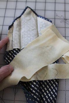 Tutorial: Preparing silk ties for memory quilts