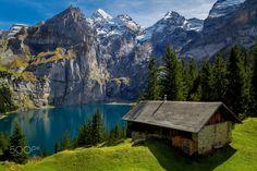 Oeschinensee, Switzerland.