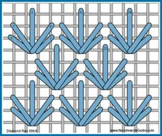 Diamond Ray Stitch