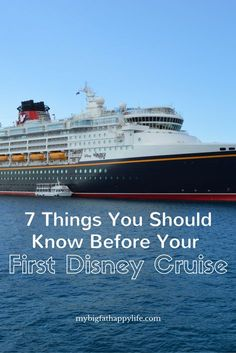7 Things You Should Know Before Your First Disney Cruise