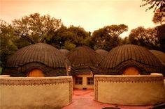 Traditional accommodation at Lesedi Cultural Village #VisitGauteng http://www.gauteng.net/attractions/entry/lesedi_cultural_village/