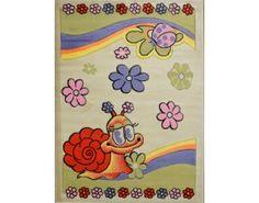 Uroczy dywan do pokoju dziecka. Pochodzi z http://www.kochamydywany.pl/dywany-dla-dzieci